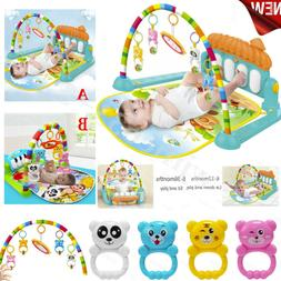 0-12Months Baby Game Pad Music Pedal Piano Music Fitness Rac