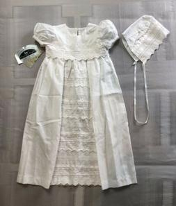 Little Things Mean A Lot 100%Cotton Girls Christening Baptis