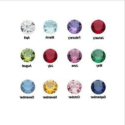 12 Birthstones for Memory Lockets All 12 Months 5mm Crystals