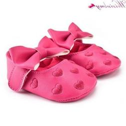 12 Colors Bebe Brand PU Leather Baby Boy Girl Baby Moccasins