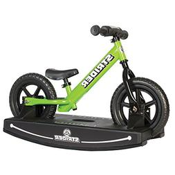 Strider 12 Sport Baby Bundle with Balance Bike and Rocking B