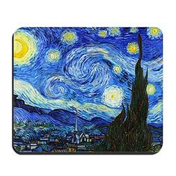 CafePress - 12mo VG Starry Mousepad - Non-slip Rubber Mousep