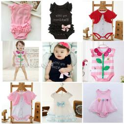 1pc baby clothes girls summer cotton bodysuit infant newborn