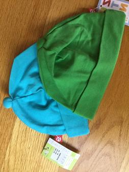 2 New Zutano infant unisex hats size 12 months