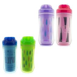 2 Pack Dr Brown's 10 Ounce Spoutless Insulated Sippy Cup BPA