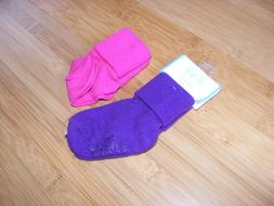 2 Pairs BABY INFANT GIRL SOCKS 6-12 MONTHS CHILDRENS PLACE P