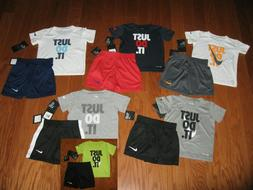 Nike 2 Piece T-Shirt & Shorts Outfit Set Boys 12M/ 18M/ 24M/