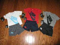 Nike 2 Piece T-Shirt & Shorts Outfit Set Boys 12M/ 18M/ 24M