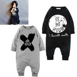 2016 Toddler Baby Girls Boys Romper Bodysuit Outfits Set <fo