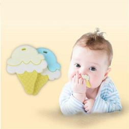 3-12 Months Baby Teether Molar Stick Creative Ice Cream Sili