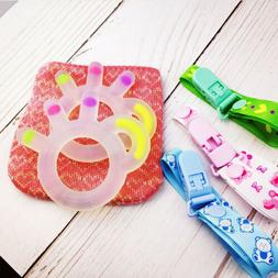 3-12 Months Boys Girls Baby Silicone Teether Kids Teething C