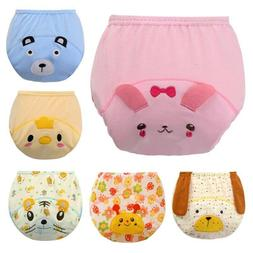 3 Layers Waterproof Cloth Diapers Baby Training Panties 3D E