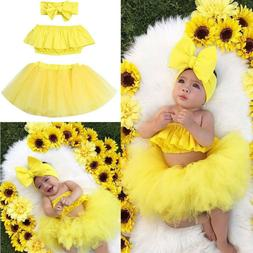 3pcs newborn baby girl outfits clothes romper