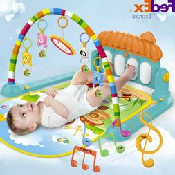 4-12 Months Baby Game Pad Music Pedal Piano Music Fitness Ra