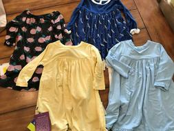 4pc lot toddler girl swing dress 12