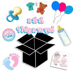 $50 Baby Box for Ages 3-24 Months Include Toys, Clothes, Bla