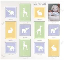 Malden International Designs Baby's 1st Year Wall Collage Pi