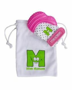 Munch Mitt by Galt Baby in Pink
