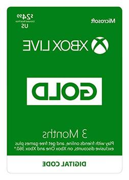 Xbox Live Gold: 12 Month Membership