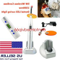 A+ Dental 5W LED Cordless Wireless Powerful Curing Light Lam