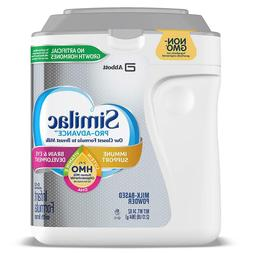 Similac Pro-Advance HMO Infant Formula 0-12 months 34 oz EXP