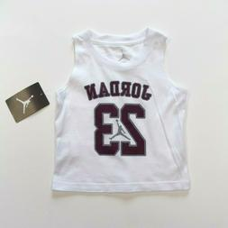 air jordan baby boys jersey tank top