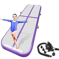 Air Track Tumbling Mat for Gymnastics Inflatable Airtrack Fl