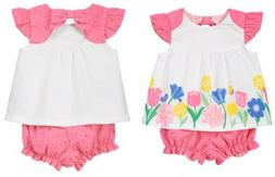 *ALL RUFFLED UP* NWT Gymboree Girls Floral Top/Eyelet Bloome