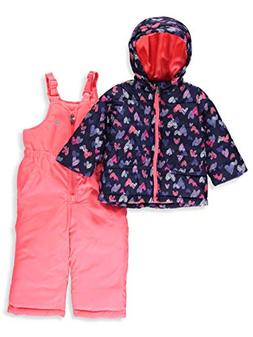 Amerex Osh Kosh B'Gosh Baby Girls' Infant Navy & Pink Heart