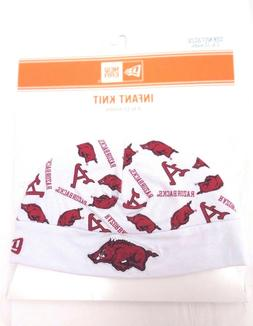 Arkansas Razorbacks Infant New Era 6-12 Months Knit Cap Bean