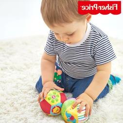 Baby Animal Ball Soft Stuffed Toy Little Rattles Balls For 0