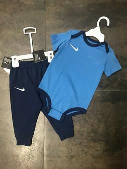 Nike Baby Boy 2 Piece Jogging Set Just Do It 9-12 Months NWT