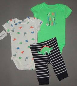 Baby boy clothes, 12 months, Carter's 3 piece play set/SEE D