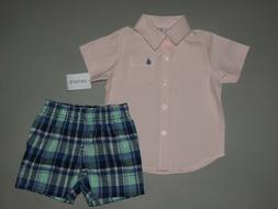 Baby boy clothes, 12 months, Carter's shirt/shorts/SEE DETAI