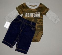 Baby boy clothes, 12 months, Carter's 2 piece set/SEE DETAIL