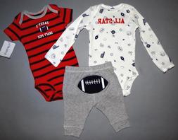 Baby boy clothes, 12 months, Carter's 3 piece set/SEE DETAIL