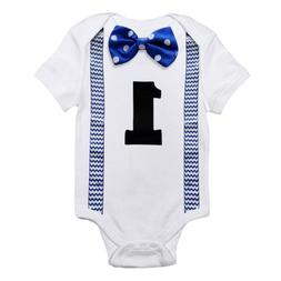 Baby Boy Rompers White Kids Jumpsuits One Pieces First Birth