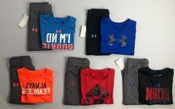 Baby Boy's Infant Under Armour Short Sleeve Shirt and Athlet