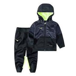 NIKE Baby Boys 2 Piece Pants and Top Hoodie Baby Jogger Set