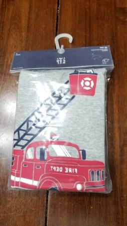 Baby Gap Boys Fire Truck Pajamas NWT 6-12 Months 18-24 Month