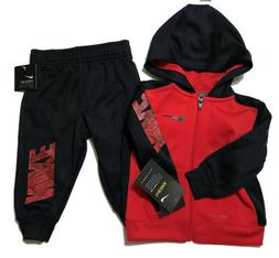 Nike Baby Boys Full Zip Therma Dri-Fit Hoodie & Pant Set 12