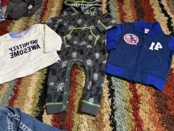 Baby Boys Size 12 Months Cat And Jack Marvel Captain America