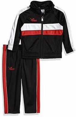 PUMA Baby Boys' Tricot Track Jacket and Pants