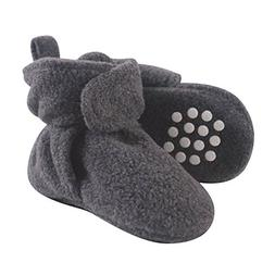 Luvable Friends Baby Cozy Fleece Booties with Non Skid Botto