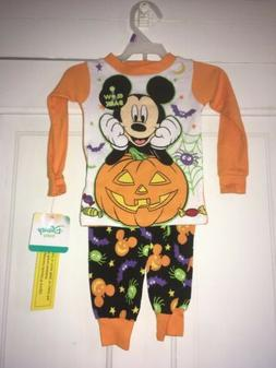 New Disney Baby First Halloween Pajamas Size 12M Long Sleeve