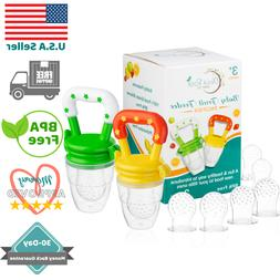 Baby Fruit Feeder Pacifier  | Infant Silicone Teething Toy |
