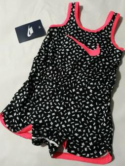 Nike Baby Girl 12M 12 Months Coverall Romper One Piece Outfi