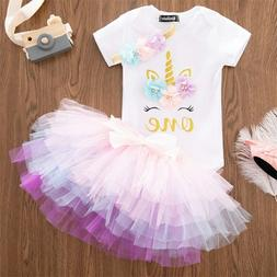 baby girl 1st birthday dress outfits sets