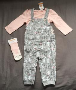 Baby Girl 6-12 Month Gymboree Pink Easter Bodysuit Bunny Ove