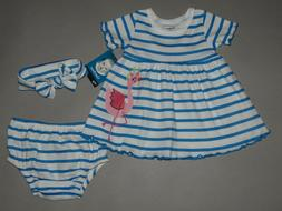 Baby girl clothes, 12 months, Gerber 3 piece set/  SEE DETAI